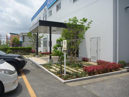 東近江市H電子玄関